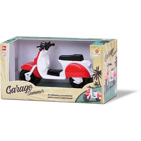 Moto Garage Summer Lambreta Sortid. Orange Toys