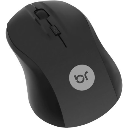 Mouse Optico Usb Espanha 800Dpi Preto Bright