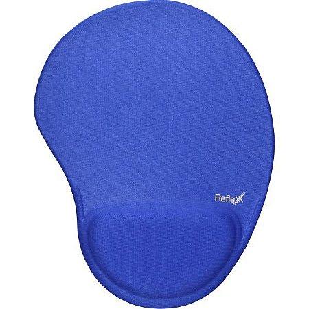 Mouse Pad Tecido Azul 19X25Cm C/apoio Reflex