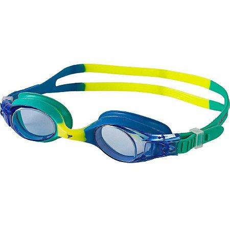 Oculos De Natacao Symi Color Junior Verde/azul Poker