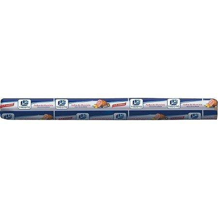 Papel Aluminio 30 Cm X 7,5 M Theoto