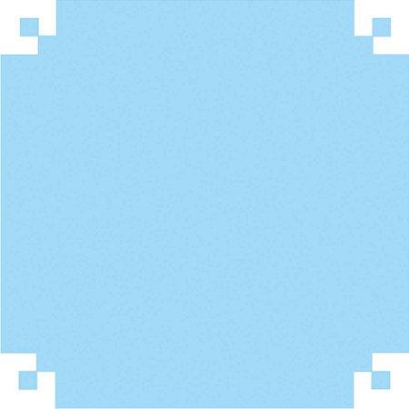 Papel Camurca 40X60Cm. Azul Claro V.m.p.