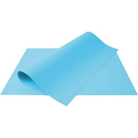 Papel Cartolina Azul Escolar 50X66Cm 240G. Multiverde