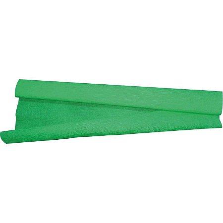 Papel Crepon 48Cmx2,00M.verde Bandeira V.m.p.