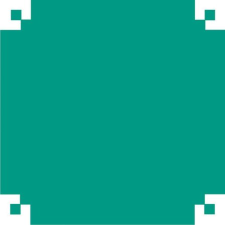 Papel De Seda Azul Tiffany 48X60Cm 20G V.m.p.