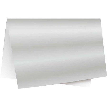 Papel Laminado 45X59Cm. Lamicor Prata Cromus