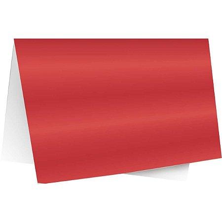 Papel Laminado 45X59Cm. Lamicor Vermelho Cromus