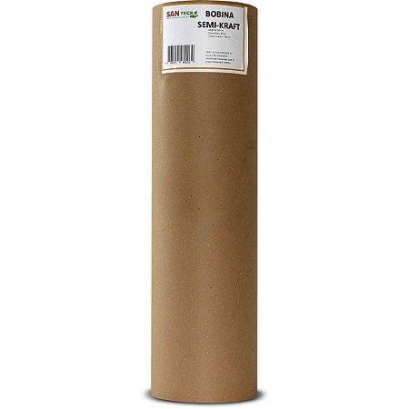 Papel Semi Kraft Bobina 40Cmx140M. 80Grs. +/- 4,5Kgs Santeck