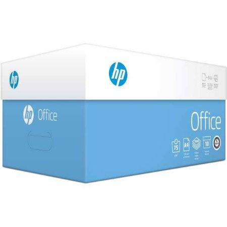 Papel Sulfite A4 Hp Office 75G 10 Pctx500 International Paper