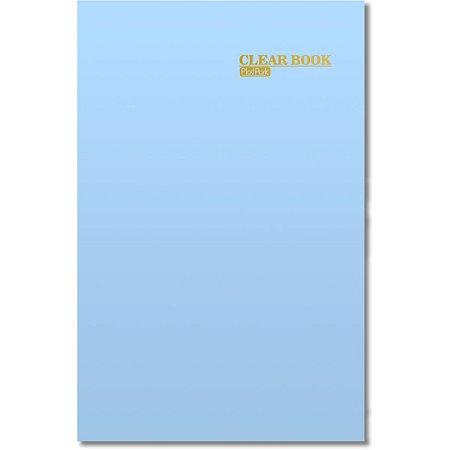 Pasta Catalogo Clear Book Pp 20Env. Az Ceu Romitec