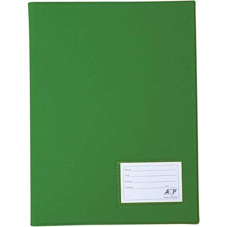 Pasta Catalogo Oficio 50 Env. Finos Verde Acp