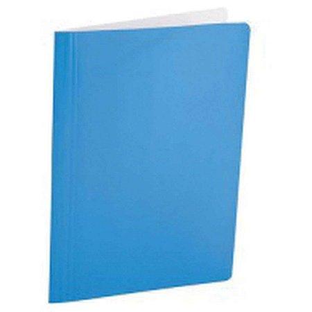 Pasta Classificador Rapido Papel Azul Com Ilhos Polycart