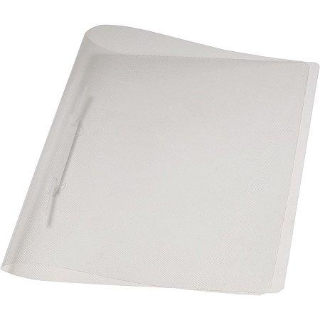 Pasta Grampo Trilho Plastica Oficio Cristal Delloplast Dello