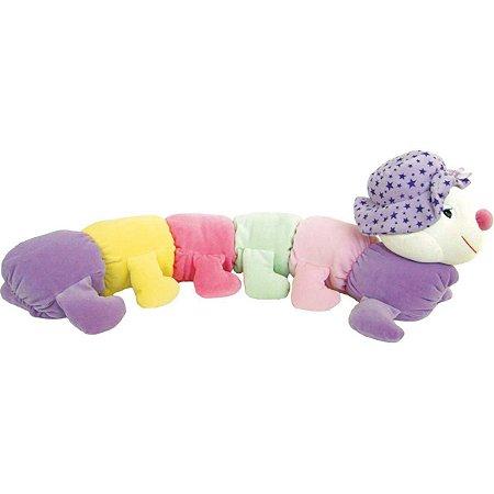 Pelucia Centopeia Vogais Suave 75Cm. Soft Toys