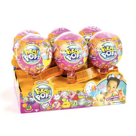 Pelucia Pikmi Pops Kit Surpresa Serie Dtc