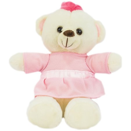 Pelucia Urso Princesa 18Cm Unik Toys