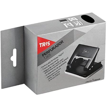 Perfurador De Papel Tris T205 P/20Fls 2Furos Preto Summit