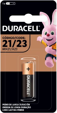 Pilha Alcalina Mini Mn21/23 12V Duracell