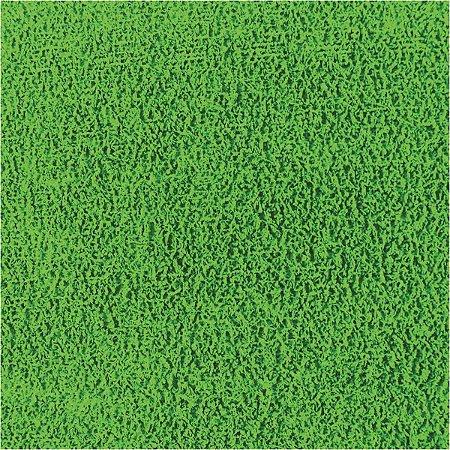 Placa Em Eva Atoalhado 48X40Cm Verde 2Mm Make+