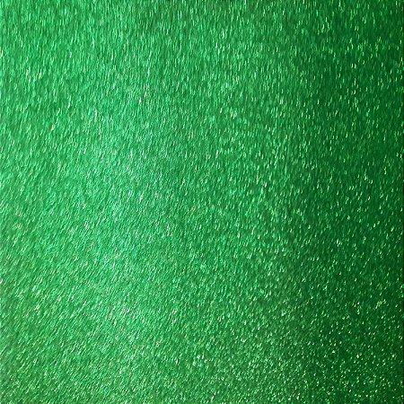 Placa Em Eva Com Gliter 60X40Cm Verde 2Mm. Dubflex