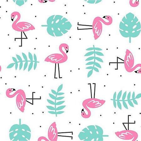 Placa Em Eva Estampado 60X40Cm Flamingo 2Mm. Make+