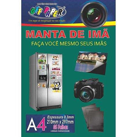 Placa Imantada A4 210X297Mm S/adesivo Off Paper
