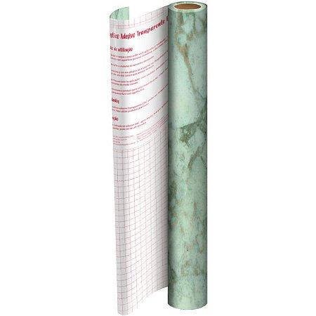 Plastico Adesivo 45Cmx 2M Marmore Pvc 0,08 Dac