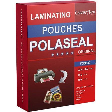Plastico Para Plastificacao Polaseal A4 Fosco 220X307 0,05 Prolam