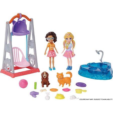 Polly Duas Amigas Hora De Brincar Mattel