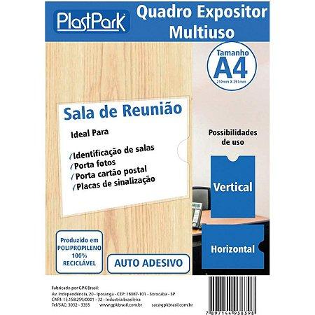 Protetor Para Documentos Quadro Multiuso C/adesivo A4 Romitec
