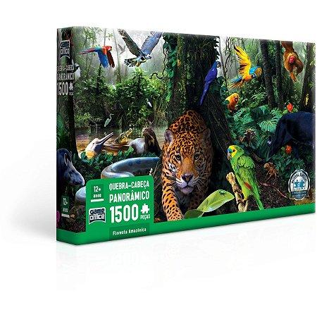 Quebra-Cabeca Cartonado Floresta Amazonica 1500Pcs Toyster