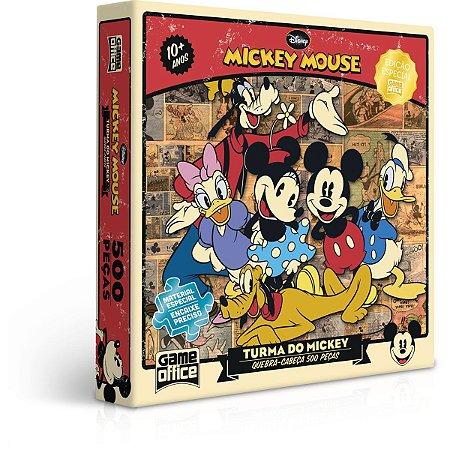 Quebra-Cabeca Cartonado Mickey E Turma 500Pcs Toyster