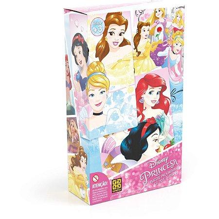 Quebra-Cabeca Cartonado Princesas Progres. 12/20/30Pcs Grow