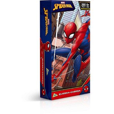 Quebra-Cabeca Cartonado Spider-Man 200Pcs Toyster