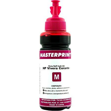 Refil De Tinta Hp Comp. Magenta 100Ml Bulk Ink Vivera Masterprint