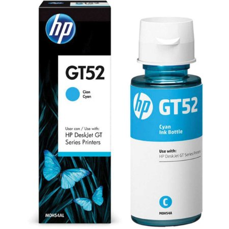 Refil De Tinta Hp Gt52 Ciano 70Ml Hp