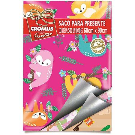 Saco Metalizado 60X90Cm Infantil Sortidos Cromus