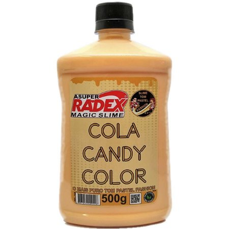Slime Cola Candy Pastel Bege 500G Radex