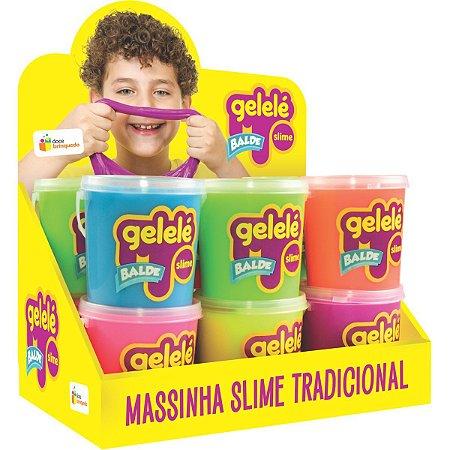 Slime Gelelé Slime Balde Tradicional Doce Brinquedo