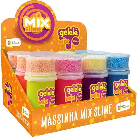 Slime Gelele Slime Mix Foam Doce Brinquedo