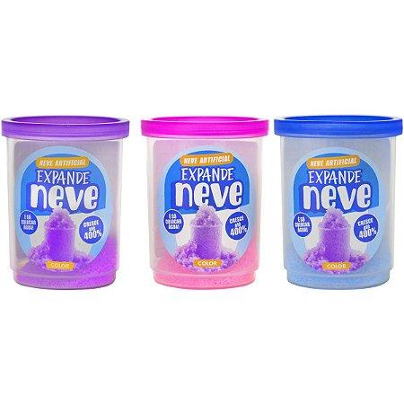 Slime Neve Color 8G. Expande Doce Brinquedo