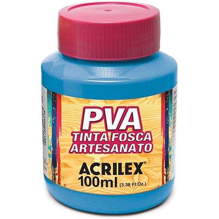 Tinta Pva Azul Celeste 100Ml. Acrilex