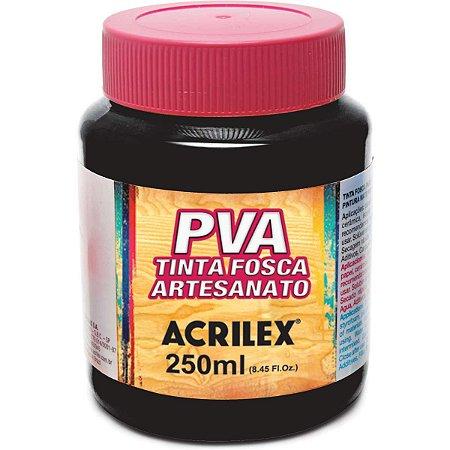 Tinta Pva Preto 250Ml. Acrilex