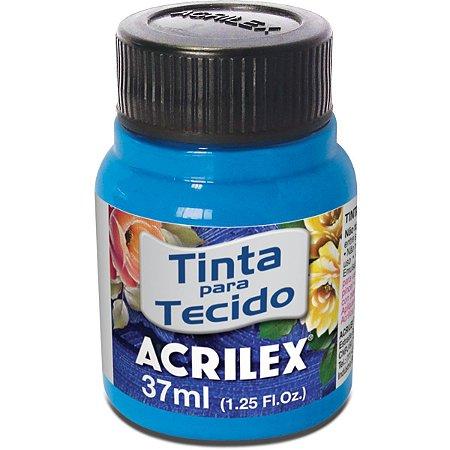 Tinta Tecido Fluorescente Azul 37Ml. Acrilex