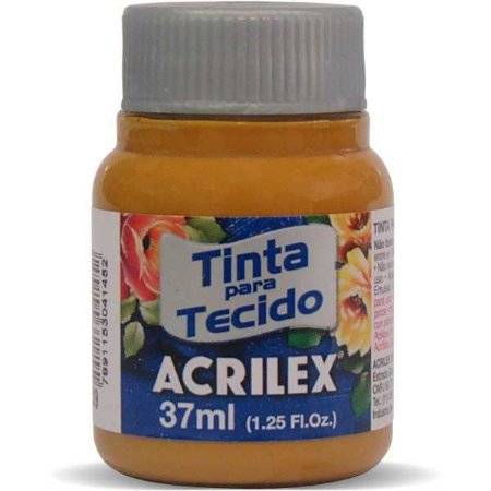 Tinta Tecido Fosca 037Ml Siena Natural Acrilex