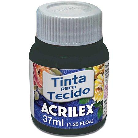 Tinta Tecido Fosca 037Ml Verde Pantano Acrilex