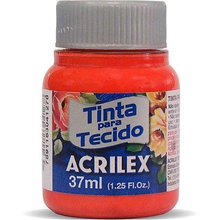 Tinta Tecido Fosca 037Ml Vermelho Fogo Acrilex
