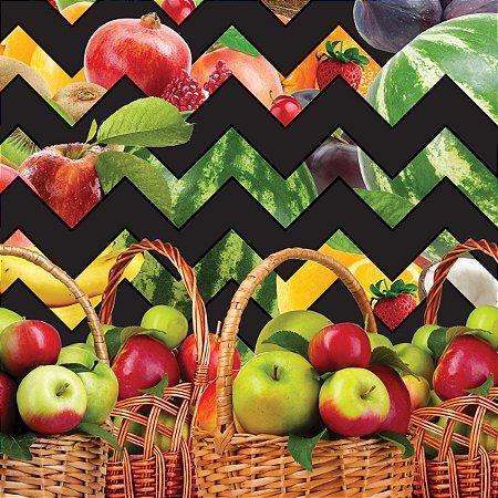 Toalha Ecotermica Salada De Frutas 1,40 X 30M. Plastvinil