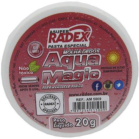Umedecedor De Dedo Asuper Aqua Magic 20G. Radex