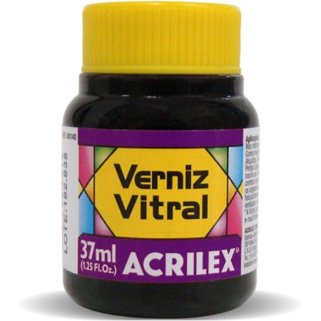 Verniz Vitral Violeta 37Ml. Acrilex